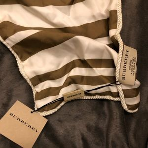 Burberry scarf new with tags